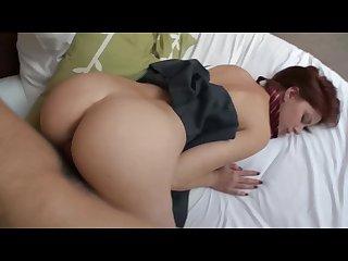 Kinpatu86-0161 Abigaile Johnson - Redhair schoolgirl creampie