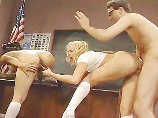 Hannah harper gets plowed in front of college class