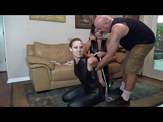 Catburglar bondaage and hogtied in boots