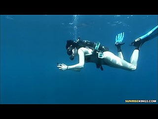 Scuba diving sex