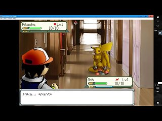 Pokemon hentaii version uncencered playthrew part 1
