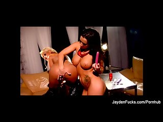 Jayden jaymes hot lesbian session