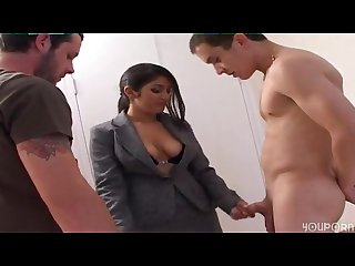 Bossy indian parole officer punishes her parolees