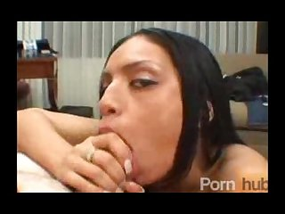 Tight latina make shim cum in her mouth
