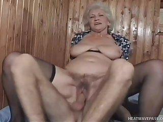 Granny norma gets sex