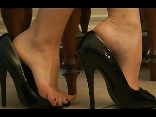 Shoeplay dangling foot pov youfeets