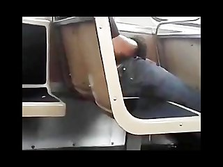 Caught jacking off on the train in chicago