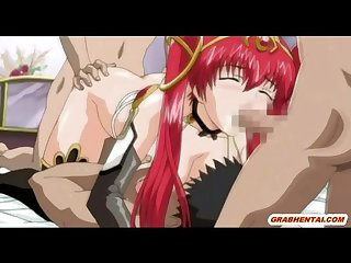 Redhead japanese anime five some fucked and cummed allbody
