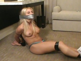 Angel tied gagged