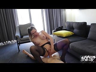 blackmailing home wrecker to fuck