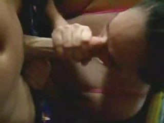 Wife gets her titsfucked and sucks