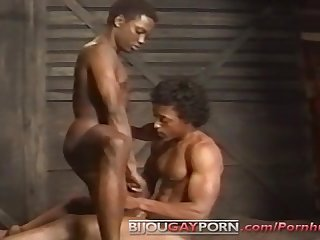 Handsome Black Men Fuck on a Train - BULLET VIDEOPAC 12: BLACK BULLET