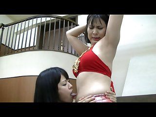 Belly dance belly lick hd