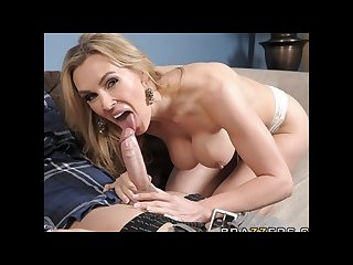 Slutty blonde milf Tanya tate fucks her daughter S school tutor