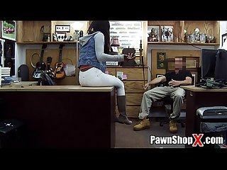 Brown Bunny in Boots Gives Up Ass for Cash in Pawn Shop xp14321 - PawnShopX.com