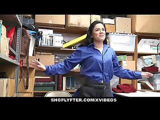 Shoplyfter teen gets humiliated by lp officer s cock