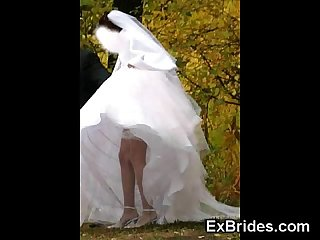 Real young brides