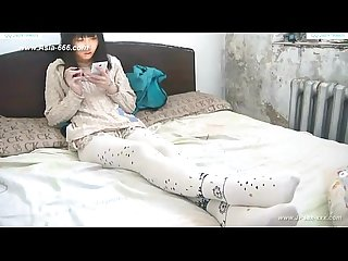 Chinese amateur footjob 20