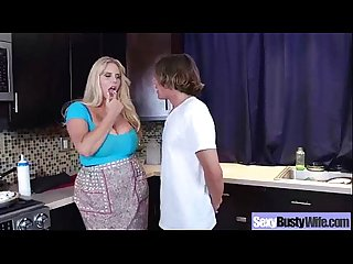 Mature lady karen fisher with big melon tits on sex tape movie 19