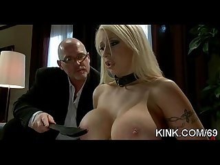 Busty pretty girl purchased as sex slave