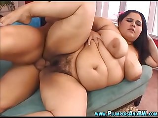 Chubby Girl Karla Lane Gets Pussy and Titty Fucked
