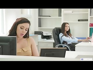 Girlsway secret relationship on The workplace whitney wright and eliza ibarra