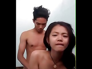 Young couple homemade sextape