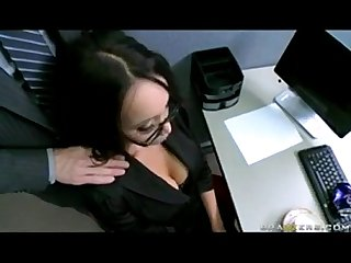 Big tit asian office slut caught masturbating in heels with johnny sins view more Videos on befucker