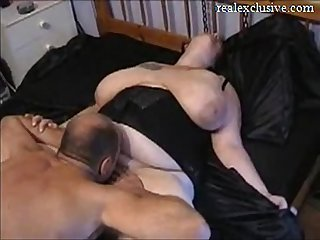 My Hubby best friends eating my pussy