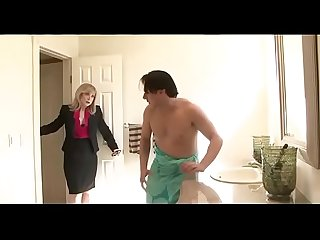 Horny mom seduces son S friend watch part 2 at filthygeek com