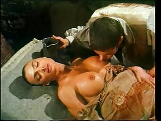 Vintage porn video with Venere Bianca fucked in historic dress