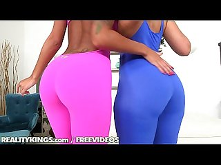 Reality kings sexy ebony threeseome