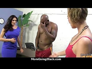 Hot milf takes on 11 inch huge monster black cock 4