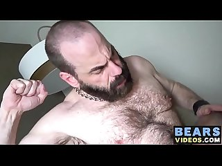 Steve Sommers and Will Stone make a hairy fuck party