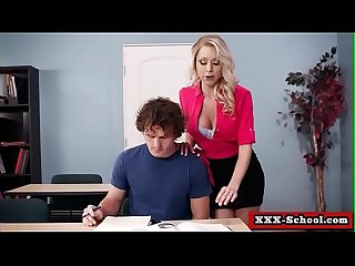 Teacher Takes Advantage (Katie Morgan and Robby Echo) clip-01