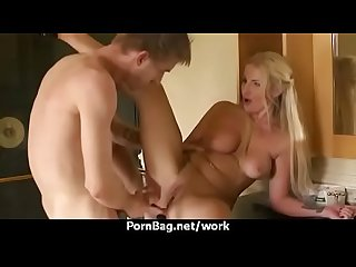 Hot big-boob office slut fuck boss' big-dick 24