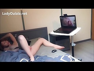 Webcam masturbation