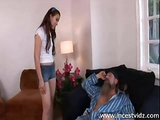 Cute young cristina agave taboo sex with old
