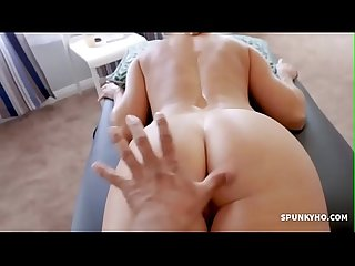 Sexy mom gets fist fucked after A long day