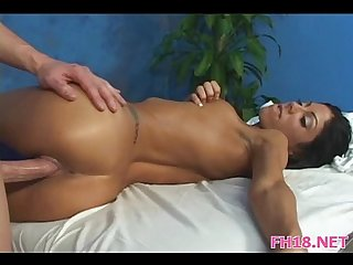 Gorgeous 18 year old hot babe gets fucked hard
