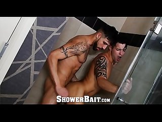 ShowerBait Fx Rios Shower fucks str8 Casey Everett