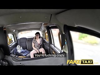 Fake taxi cock hungry lady loves to take it all