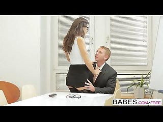 Babes Office obsession learning the ropes starring carolina abril and chad rockwell clip