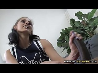 Cheerleader Teen Tommie Ryden Craves BBC