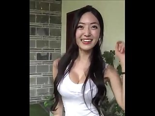 Korean busty model yuna show off her boobs livecamcherries com