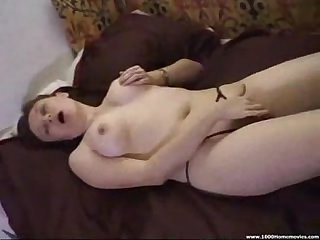 Cumming on my wife tits