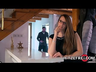 HITZEFREI Tattooed German babe likes it rough