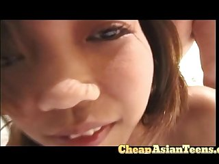 Flat chested young asian needed some money cheapasianteens com