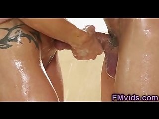 Jewels jade hot shower