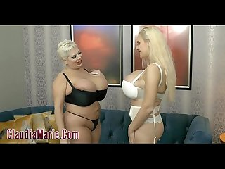 Claudia marie vs dolly fox